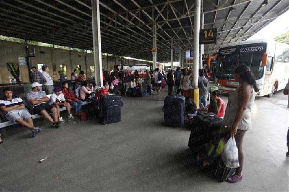 En la Terminal ya se siente el éxodo por las Fiestas