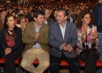 Pérez participó de la Fiesta de la Vendimia de Luján de Cuyo