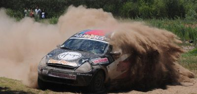 Rally: el sanjuanino Abarca ganó la primera etapa del Argentino