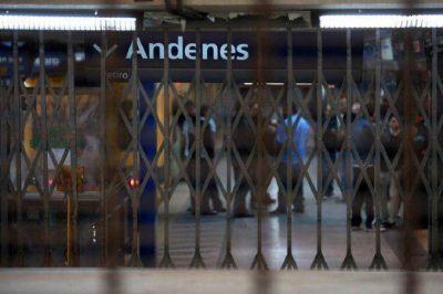 Metrodelegados amenazan con un paro para este lunes o martes