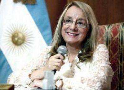 Alicia Kirchner destac� la sanci�n de la Ley Federal de Trabajo Social