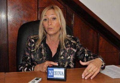 Mónica López dijo que hay cinco candidatos a gobernador por el FR y que Insaurralde no está adentro