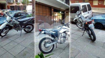 La moto encontrada en Núñez no es del empresario Mariano Benedit