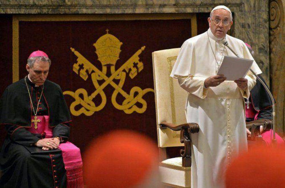 El Papa advirtió por las 15
