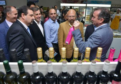 El Gobernador inaugur� el �Mercado de la Terminal� en Guaymall�n