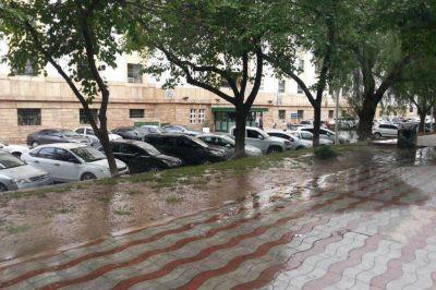 La crisis hídrica no alcanza a la Casa de Gobierno