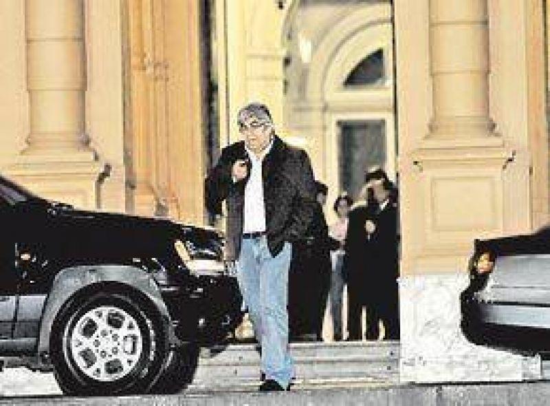 De Vido dominó la reunión en la Casa Rosada; Boudou no fue invitado
