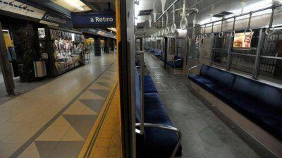 El paro en los subtes afecta a un millón de pasajeros
