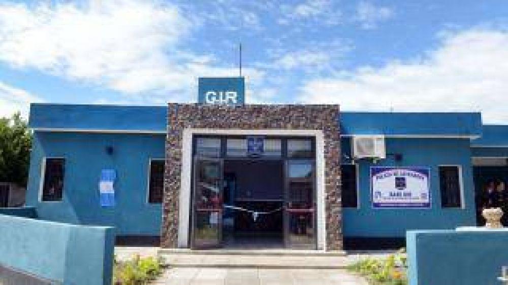 La Gobernadora inauguró nueva base GIR en el Barrio Virgen Niña