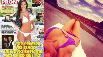 Silvina Escudero revolucionó Carlos Paz con sus curvas
