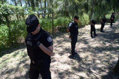 Un video registró cuando Benedit llegó con su moto a la zona de Costanera Sur
