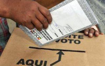 Elecciones en Bolivia: Casi 45 mil personas habilitadas para votar en la Provincia