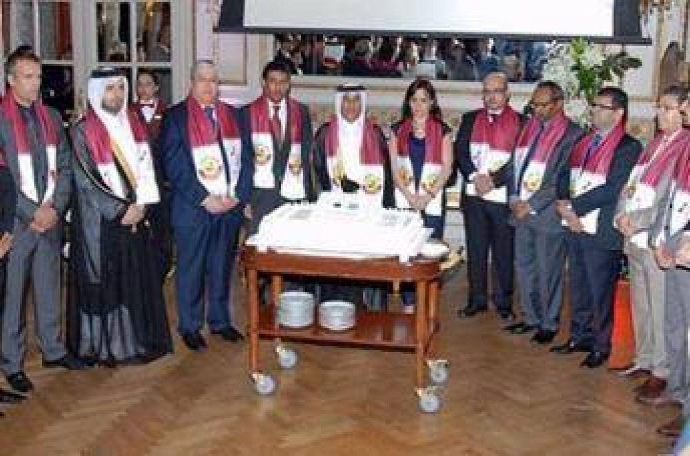Se celebró en Buenos Aires el día nacional de Qatar