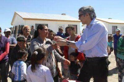 Entregaron módulos habitacionales a 22 familias de Colonia Sarmiento, en Rawson