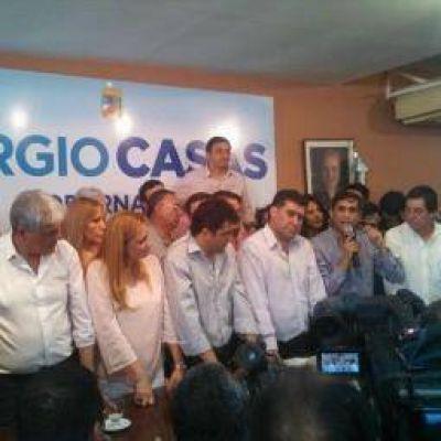 PJ. Sergio Casas oficializ� su precandidatura a gobernador