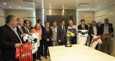 Scioli anunci� que podr� asistir el p�blico visitante al Torneo de Verano