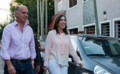 Vidal y Grindetti cerraron el año en Lanús