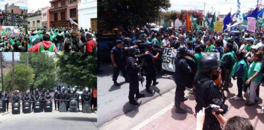 Con Paro, movilización y escraches, los trabajadores expresaron lo que piensan de este Gobierno