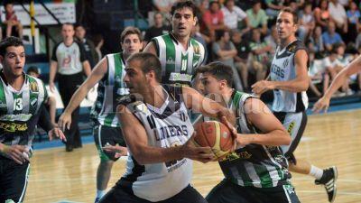 Básquet: Liniers le ganó a Villa Mitre 81-69 en el primer juego de la serie final de Primera división