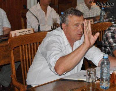 Concejales oficialistas están molestos con la oposición Garat preside el bloque del FpV