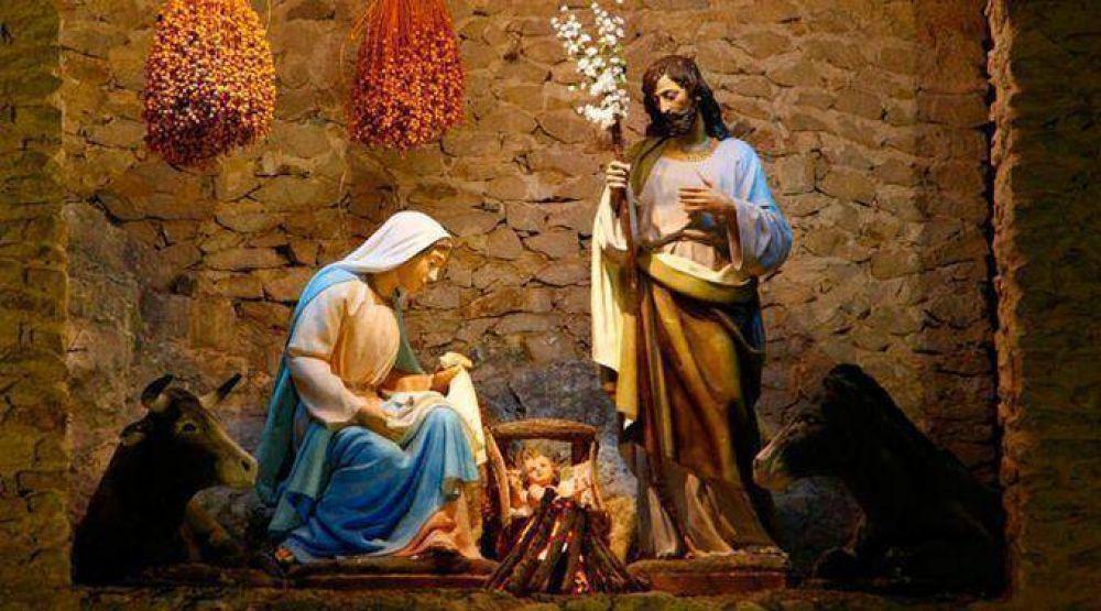 Oración familiar para poner al Niño en el pesebre