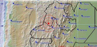 Ayer se produjo un nuevo sismo en Jujuy