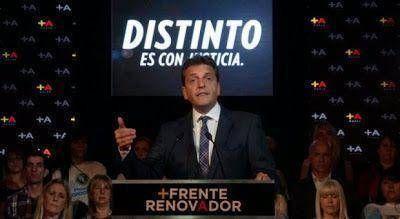 """Massa creó su marca electoral: """"Frente Renovador de la Esperanza"""""""