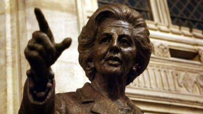 Los kelpers defendieron la estatua de Thatcher: