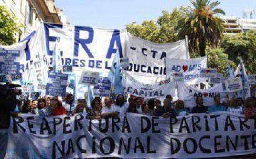 Como en Provincia, comenzaron las negociaciones de la paritaria nacional docente