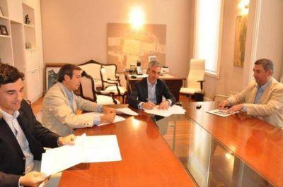 Convenio entre el Gobierno Local, la UNNOBA y Nidera