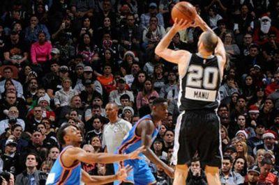 Cada vez más leyenda: Manu Ginóbili cumplió 1000 en una nueva derrota de los Spurs