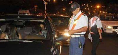 Navidad: se labraron 28 actas de infracción y dos conductores dieron alcoholemia positiva, en Posadas