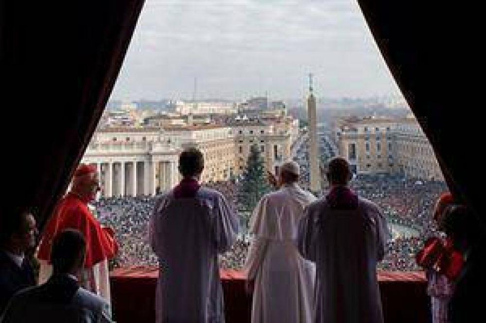 El terror jihadista, eje del mensaje navideño del Papa