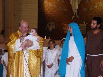 En la misa de Navidad, Cámpora pidió que se vea cuántas veces se dice sí a Dios