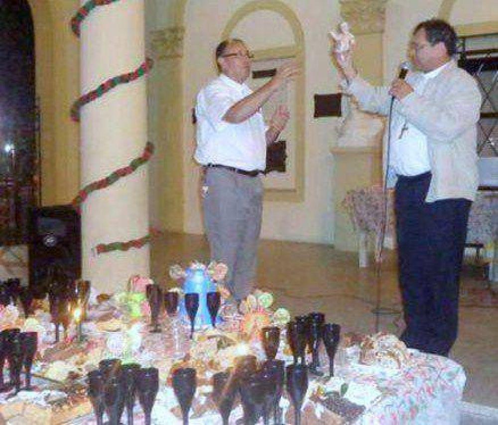 El Obispo quilmeño encabezó la cena de Nochebuena en la Catedral