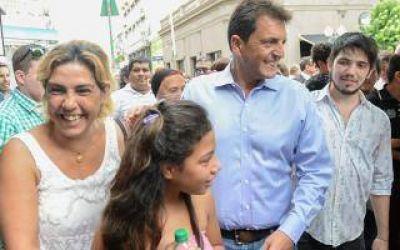 Massa visitó San Nicolás para sumar a Santalla al Frente Renovador