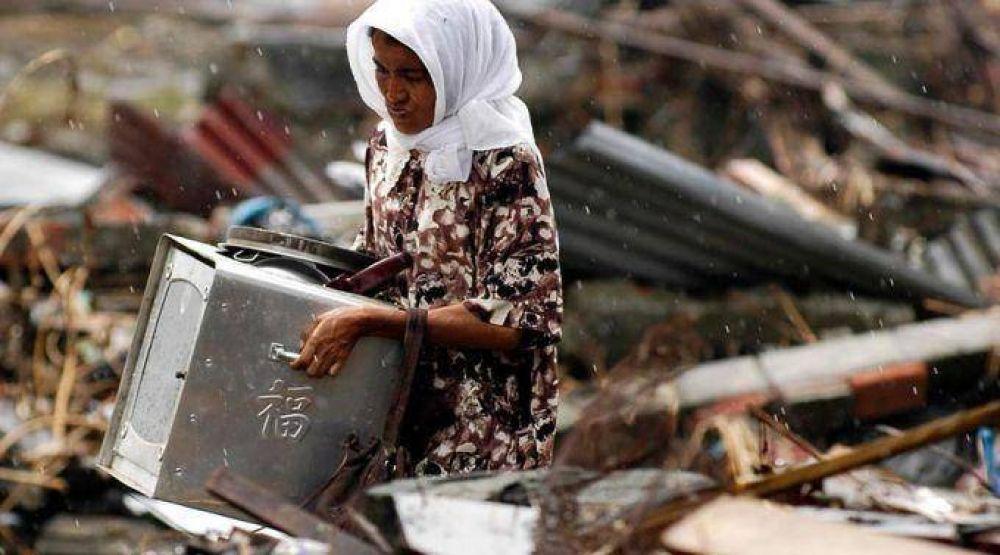 Cáritas levanta 33.000 casas para 85.000 personas en zonas del tsunami de 2004