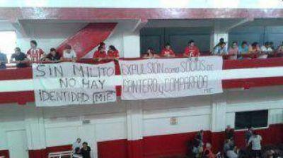 Ambiente tenso en la asamblea de Independiente