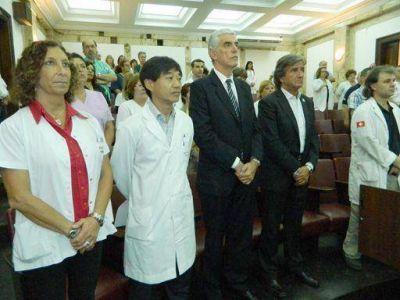 El Hospital Presidente Perón reinauguró los servicios de Gastroenterología y Neumonología