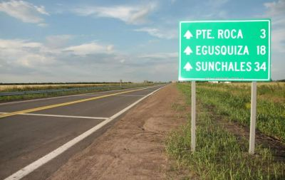 Antonio Bonfatti inaugurará la ruta N° 13, entre Egusquiza y la provincial N° 70