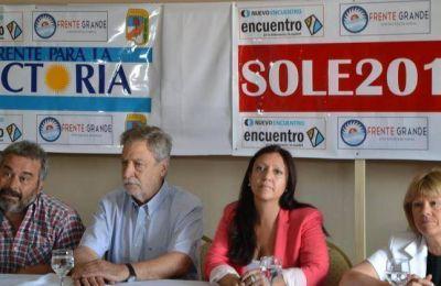 Soledad Martínez lanzó su candidatura en Zapala