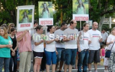 Saladillo: Multitudinaria marcha por Marisol Oyhanart