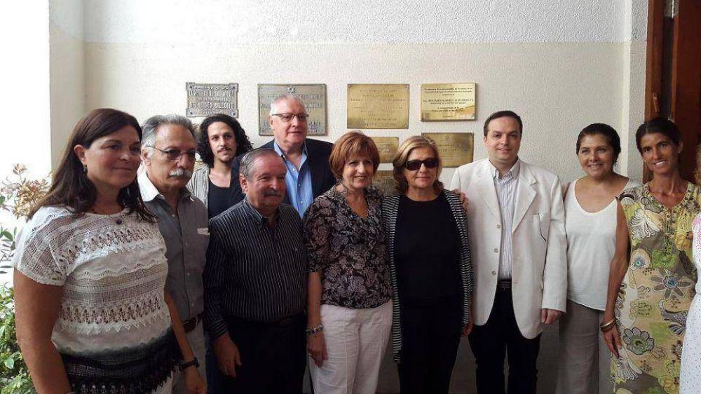 Emotivo homenaje al fallecido presidente de la DAIA de Mar del Plata, Benjamín AlbertoSchujman z'l