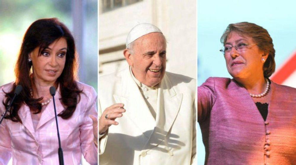 Cristina suspendió su encuentro con el Papa por la fractura de tobillo
