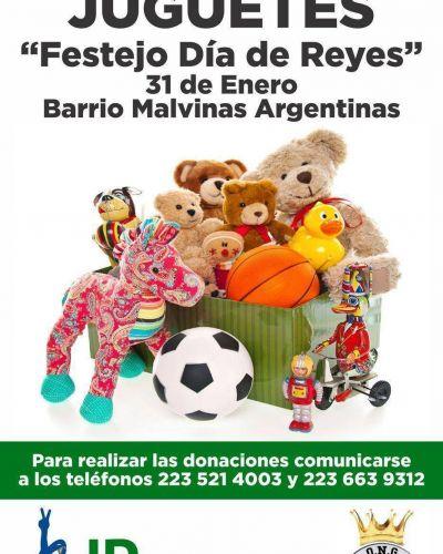 Realizan colecta de juguetes para los festejos del día de Reyes