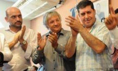 Casas, Tineo y Bosetti de campaña por la interna del PJ