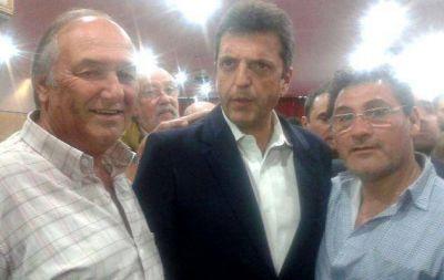 Dos diputados pampeanos, con Massa