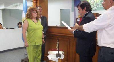 Asumió Gaetani como concejala en una sesión sin desperdicios