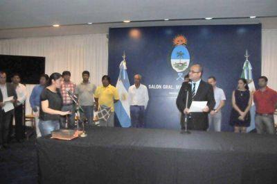 Oteo tomó juramento a los nuevos integrantes del Directorio del Idach