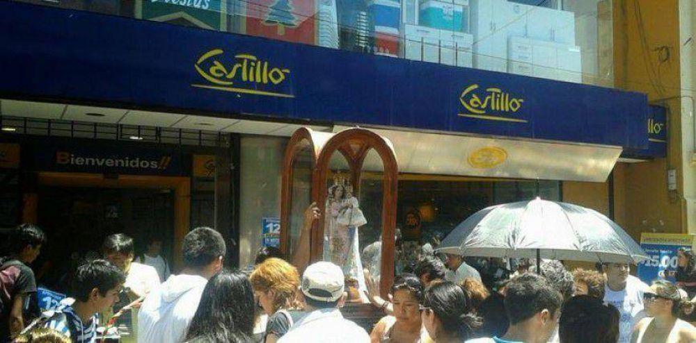 La virgen de Río Blanco acompaño a los jujeños para despedir el 2014